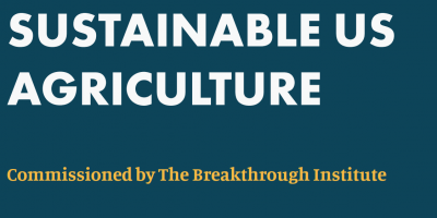 Investing in Public R&D for a Competitive and Sustainable US Agriculture