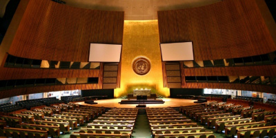 Photo: Patrick Gruban, UN General Assembly, Flickr creative commons licence 2.0