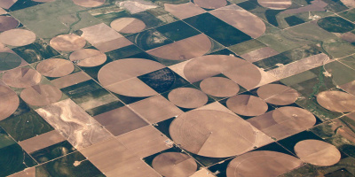 Image: Soil Science, Aerial Photo of Center Pivot Irrigations Systems (2), Flickr, Creative Commons Attribution 2.0 Generic